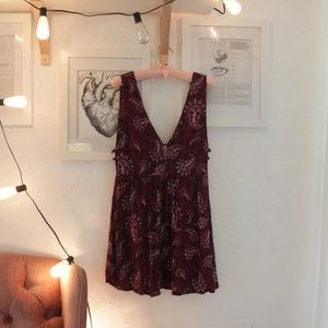 Mini Paisley Dress